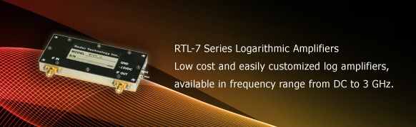 RTL-7 Series Logarithmic Amplifiers